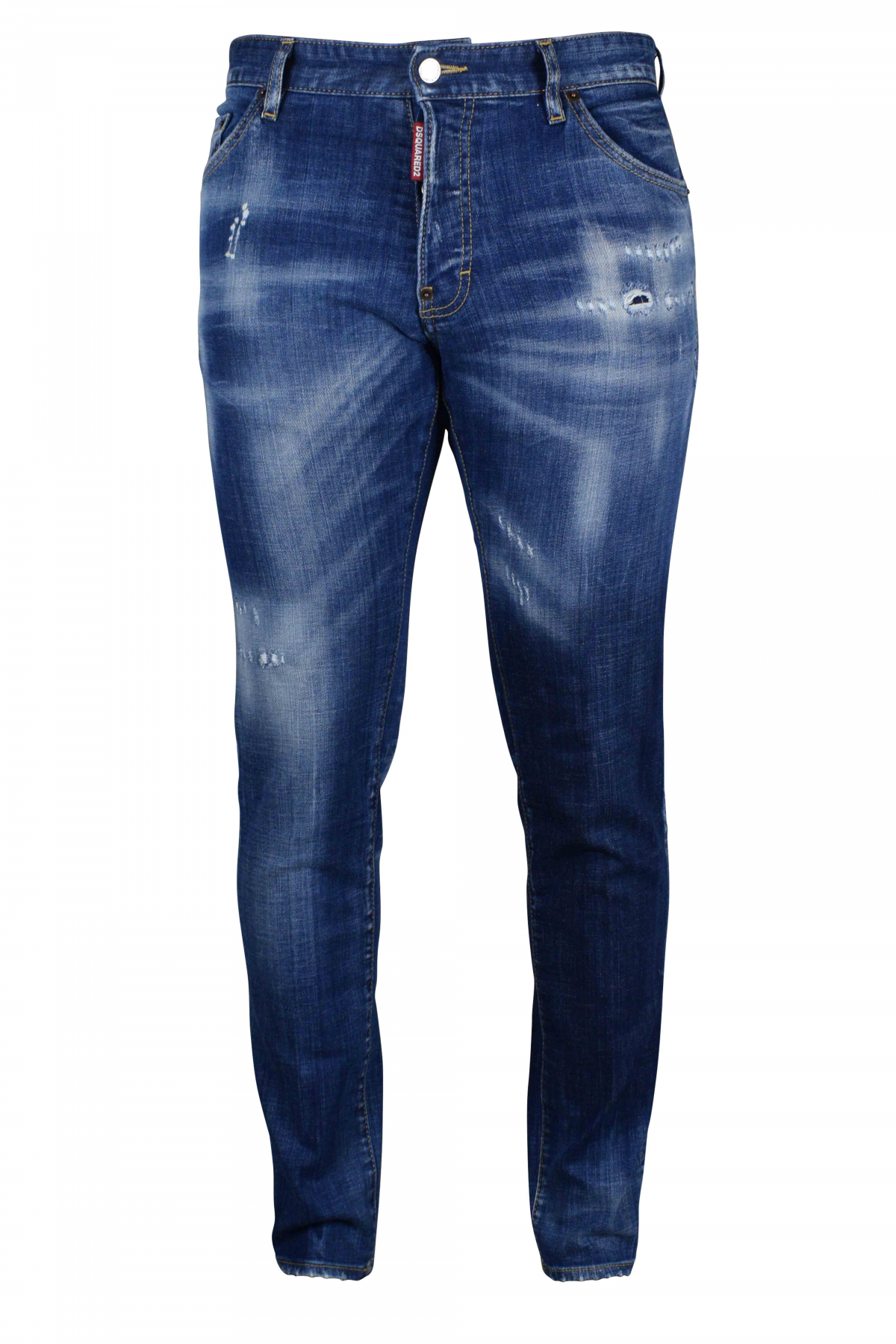 Cool Guy Jean Dsquared2 blue ripped effect.