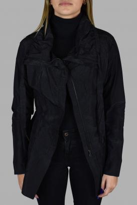 Prada light black jacket with sequins.