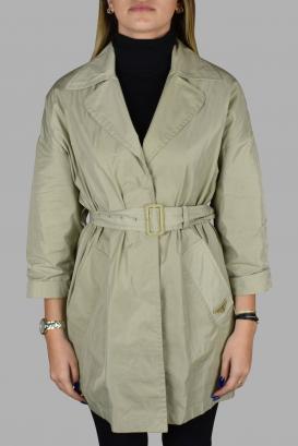 Prada beige coat.