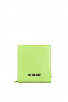 Jacquemus Le Gadjo neon yellow bag.