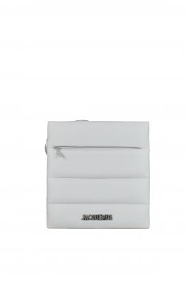 """Jacquemus """"Le Carré"""" gray satchel."""