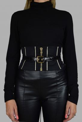 Dolce & Gabbana fabric belt.