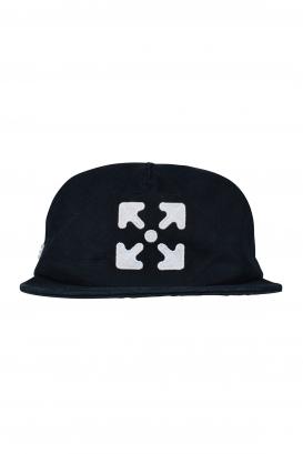 Black Off-White cap.