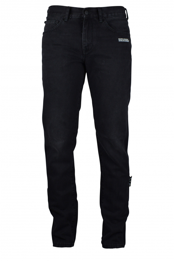 Off-White black jeans.