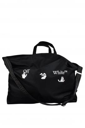 Off-White black tote bag.