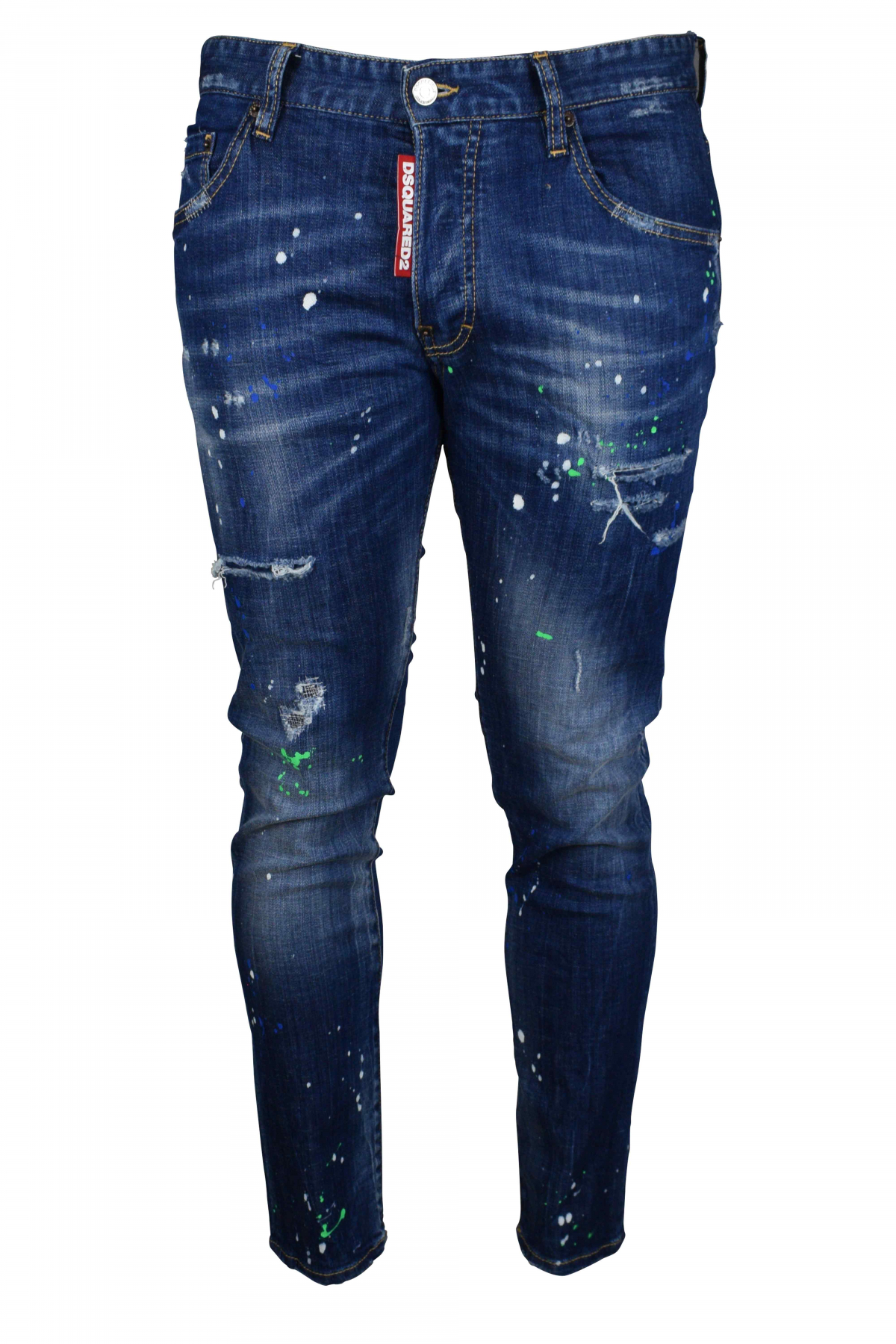 Skater Jean Dsquared2 blue.