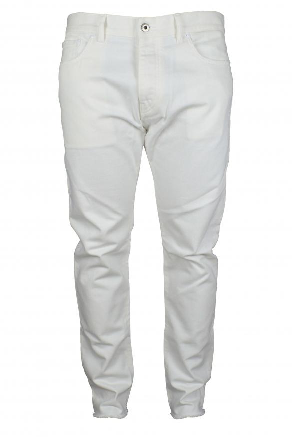 White Valentino jeans.