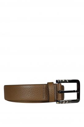 Valentino Garavani belt in brown leather.