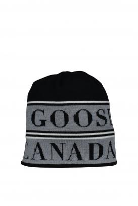 Black Canada Goose beanie.
