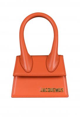 Jacquemus Le Chiquito mini bag in orange leather.