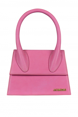Jacquemus Le Grand Chiquito bag in pink leather.