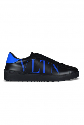Valentino Garavani Open sneakers in black leather.